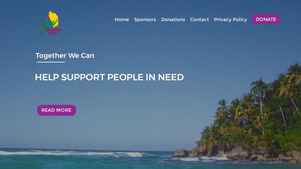dominica-charity-website
